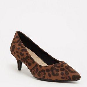 torrid Shoes - Leopard kitten heels